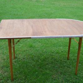 Tavolo estremi Buffet stondato 150x85 cm (gambe legno)
